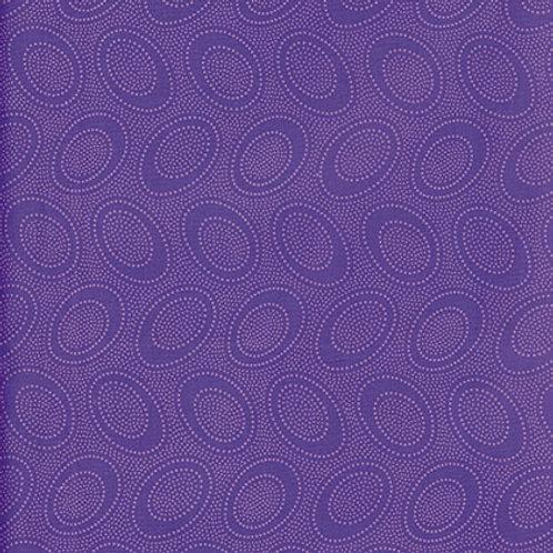 Kaffe Fassett Classics - Aboriginal Dot Plumx GP71 PLUM Quilt Fabric