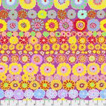 Kaffe Fassett Classics - Row Flowers PWGP169 PINKX Quilt Fabric
