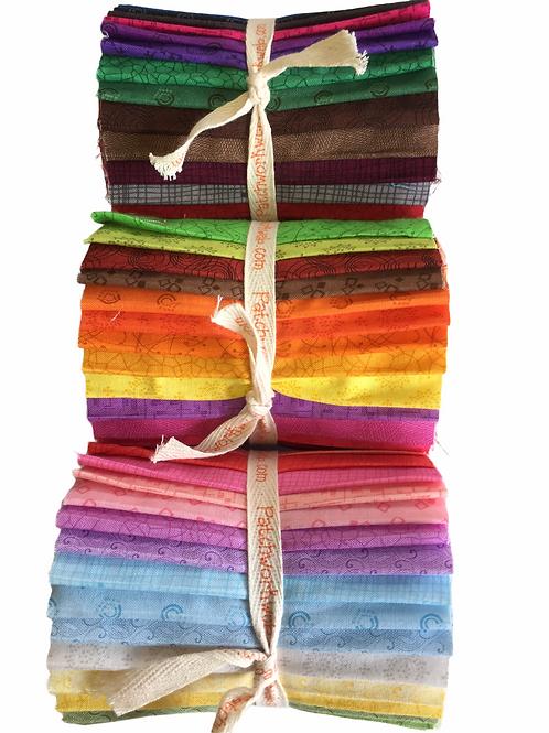 "P B Textiles Blenders Designer Roll - Light, Bright or Dark, 20 x 5"" x WOF"