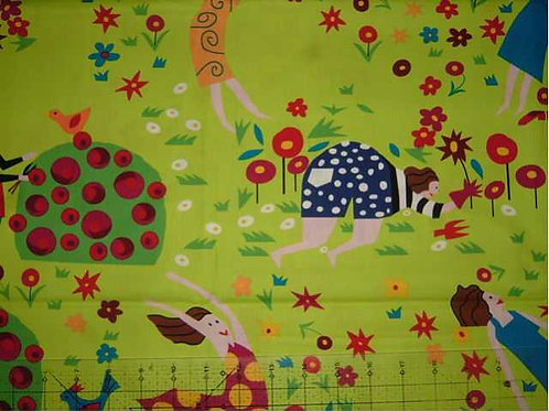 Jennifer Pudney I'd Rather be in my Garden Col 1 Quilt Fabric