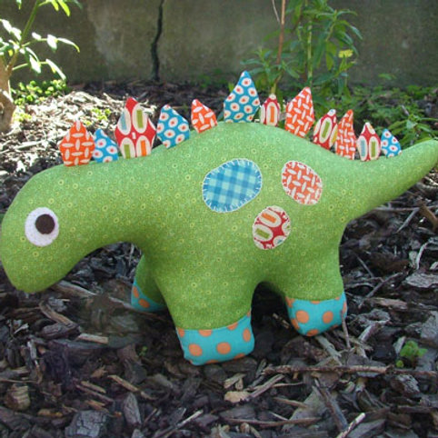 "Melly and Me ""Dilbert"" Dinosaur Soft Toy Pattern MM036"