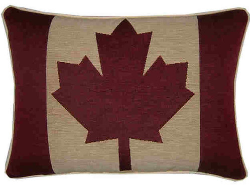 Canada Canadian Flag Tapestry Oblong Cushion Co