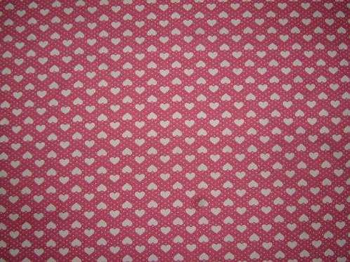 Japanese Fabrics Mini Hearts Quilt Fabric Col 2
