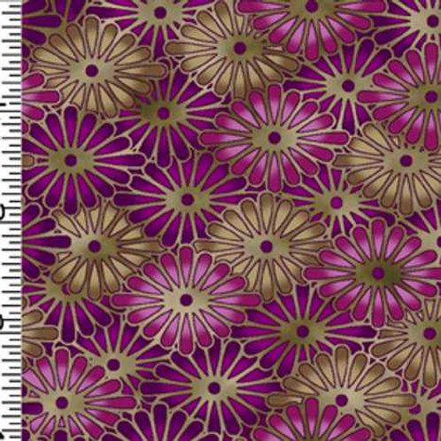 Kona Bay Geisha Dynasty GEIS-21PURPLE Quilt Fabric
