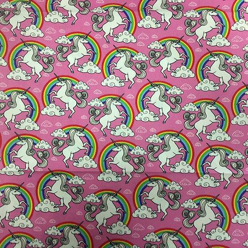 Nutex Puppets Unicorns & Rainbows 23859-12 Quilt Fabric