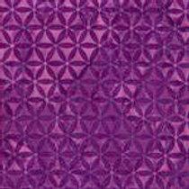 Island Batiks 611527012 Jewels & Gems Purple Triangles Quilt Fabric