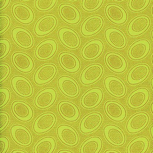 Kaffe Fassett Classics - Aboriginal Dot Lime GP71 LIME Quilt Fabric