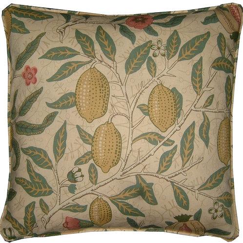 William Morris Fruit Major Cream Cushion Cover