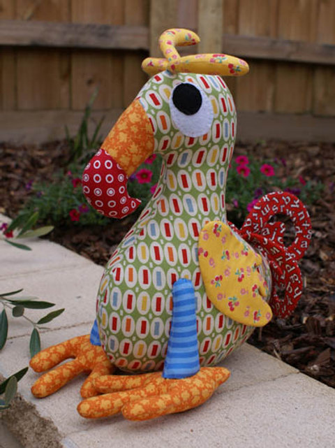"""Melly and Me """"Dudley"""" Dodo Soft Toy Pattern MM048"""