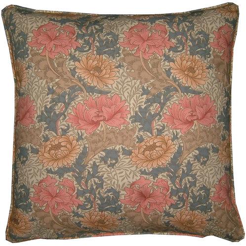 William Morris Chrysanthemum Minor Grey Cushion Cover