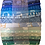 "Thumbnail: Blue & Green Colourwash Jelly Roll - 40 x 2.5"" WOF Strips"