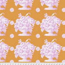 Kaffe Fassett Classics - Stone Flower PWGP173 ORANG Quilt Fabric