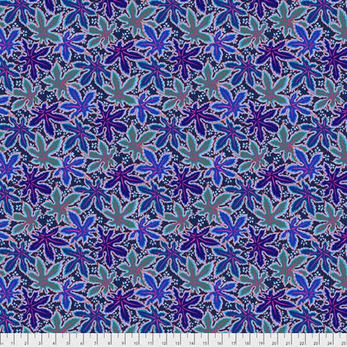 Kaffe Fassett Classics - Lacy Leaf PJ093 BLUEX Quilt Fabric