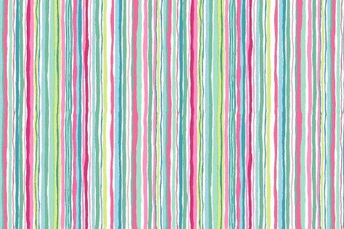 MakowerUK Merryn Wavy Stripe 1800/P Quilt Fabric