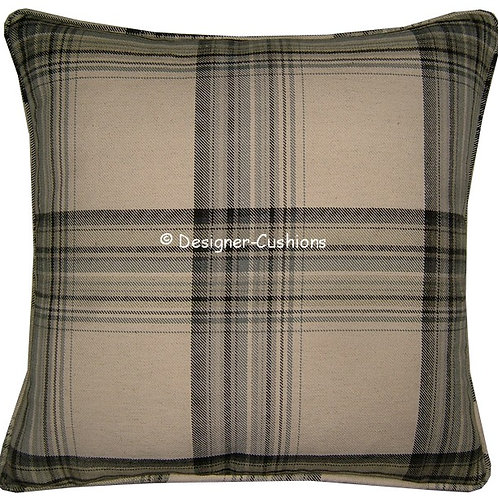 Laura Ashley Brodie Charcoal Cushion Cover