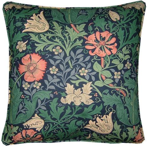 William Morris Compton Blue Cushion Cover