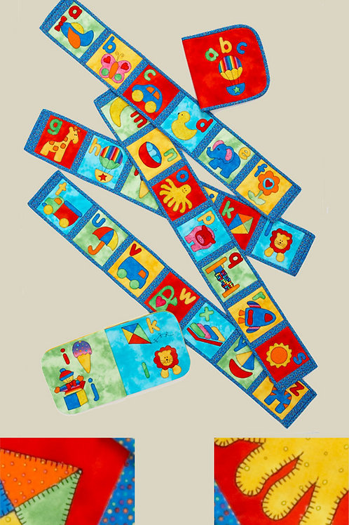 Kids Quilts 'I Know My ABC's' Wall Quilt Pattern