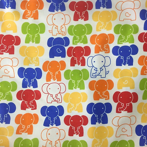 Nutex Novelty Elephant Walk Quilt Fabric