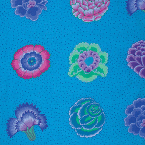 Kaffe Fassett Classics - Corsage GP149 BLUEX Quilt Fabric