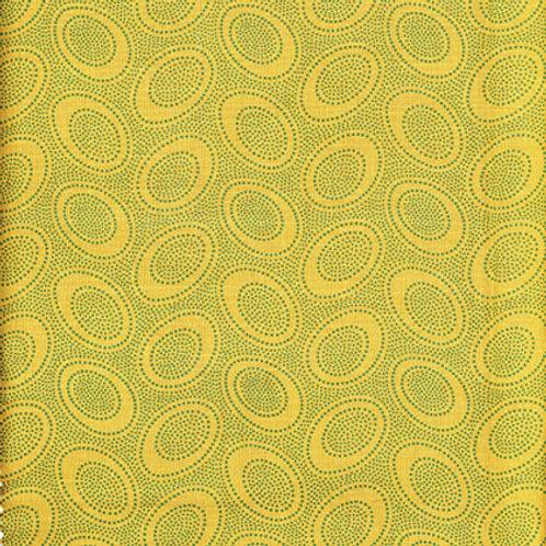 Kaffe Fassett Classics - Aboriginal Dot Ochre GP71 OCHRE Quilt Fabric