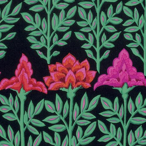 Kaffe Fassett Classics - Mughal PWGP161 Black Quilt Fabric