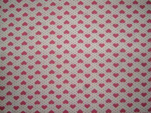Japanese Fabrics Mini Hearts Quilt Fabric Col 1