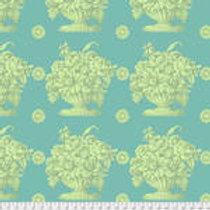 Kaffe Fassett Classics - Stone Flower PWGP173 TURQU Quilt Fabric