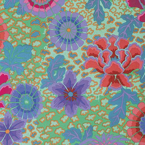 Kaffe Fassett Classics - Dream Aqua PWGP148 AQUAX Quilt Fabric