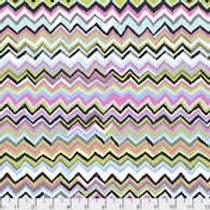 Kaffe Fassett Classics - Zig Zags PWBM043 CONTR Quilt Fabric