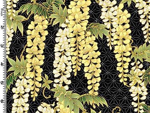 Kona Bay Geisha Dynasty GEIS-18BLA Quilt Fabric