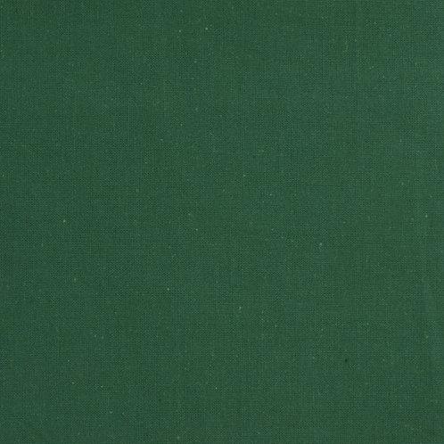 Bottle Green Homespun Cotton Quilt Fabric