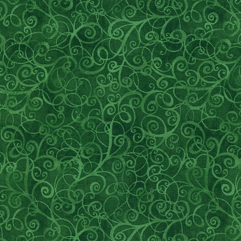 Timeless Treasures Breeze Basic Green B4843 Quilt Fabric