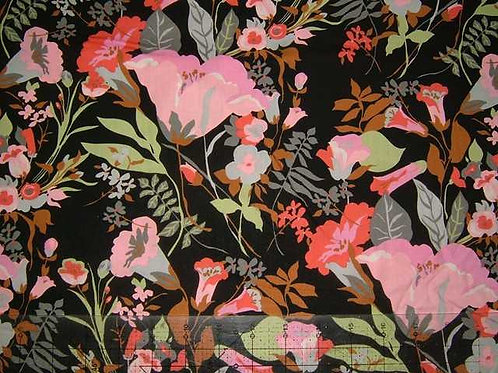 Hokkoh Covent Garden Floral Quilt Fabric Col 4
