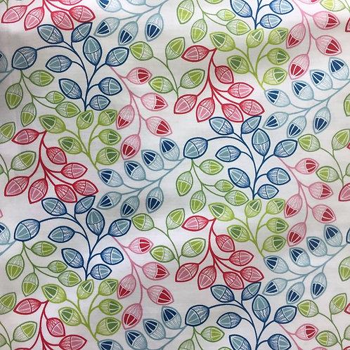 Nutex Novelty Kaleidoscope Acorns Quilt Fabric