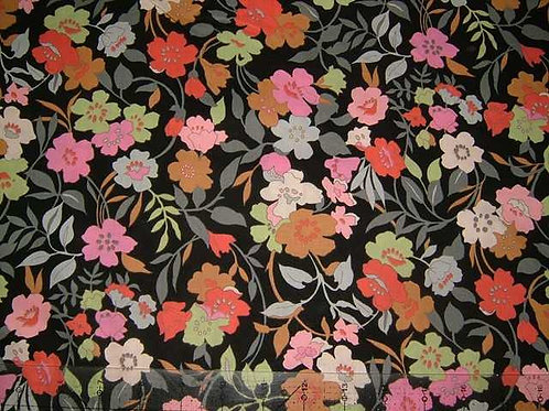 Hokkoh Covent Garden Floral Quilt Fabric Col 5