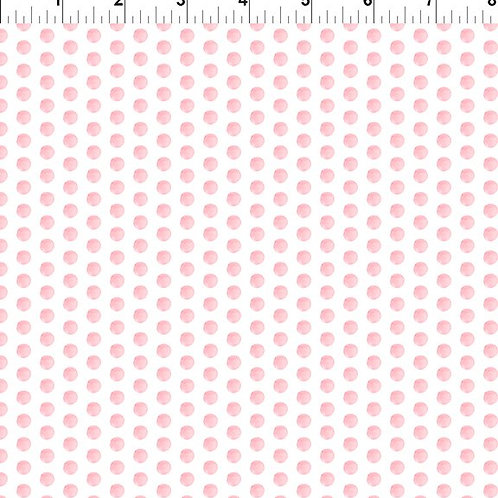 In the Beginning 'Pretty in Pink' Spots 7PIP-1 Quilt Fabric