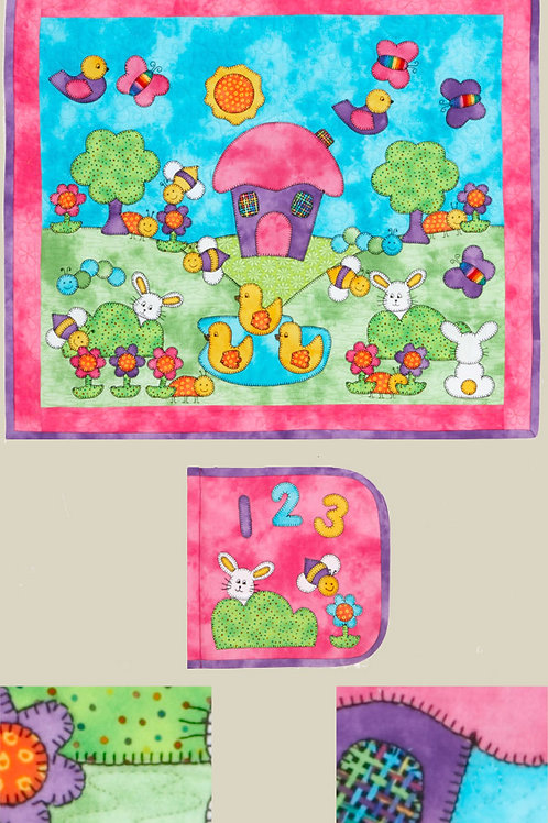 Kids Quilts '123 Pretty As Can Be' Wall/Book Quilt Pattern