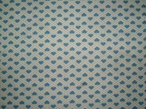 Japanese Fabrics Mini Hearts Quilt Fabric Col 3