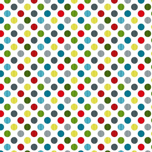 Nutex Novelty Forest Song Spot Quilt Fabric 89590 Col9