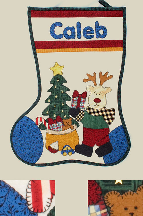 Kids Quilts 'Caleb's Stocking' Pattern