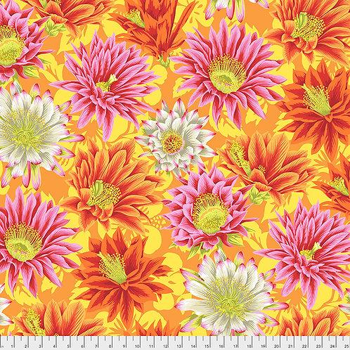 Kaffe Fassett Spring 2019 - Cactus Flower Yellow PWPJ096 YELLO Quilt Fabric