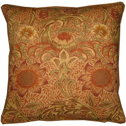 William Morris Sunflower Cushion Cover