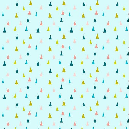 Nutex Neighbourhood Triangles 89890 Col 3 Quilt Fabric