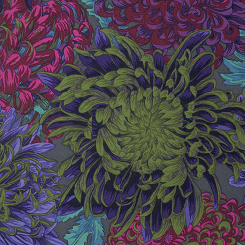 Kaffe Fassett Classics - Japanese Chrysanthemum Antique PWPJ041 ANTIQ Quilt Fabr