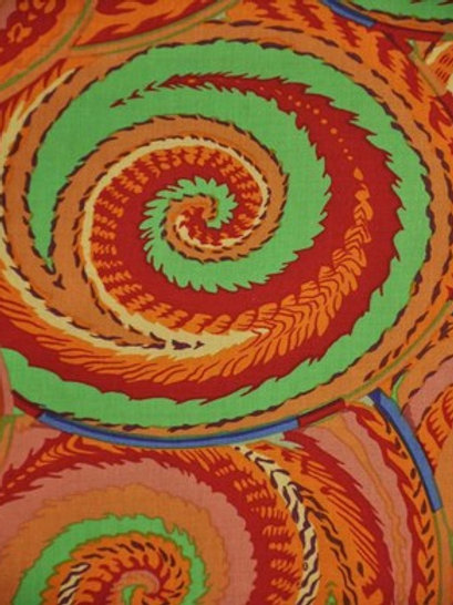 Kaffe Fassett Classics - Curly Baskets PWPJ066 Antique Quilt Fabric
