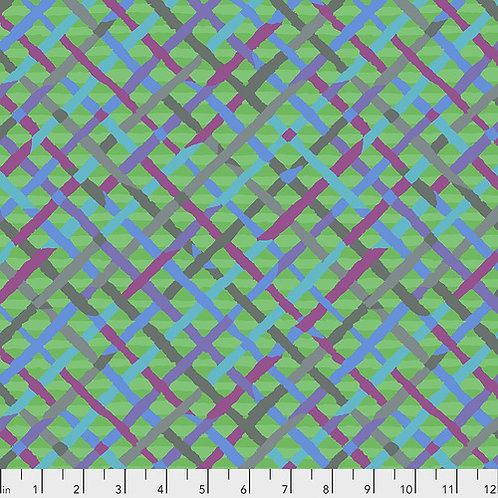 Kaffe Fassett Feb2020 - Mad Plaid PWBM037 GREEN Quilt Fabric
