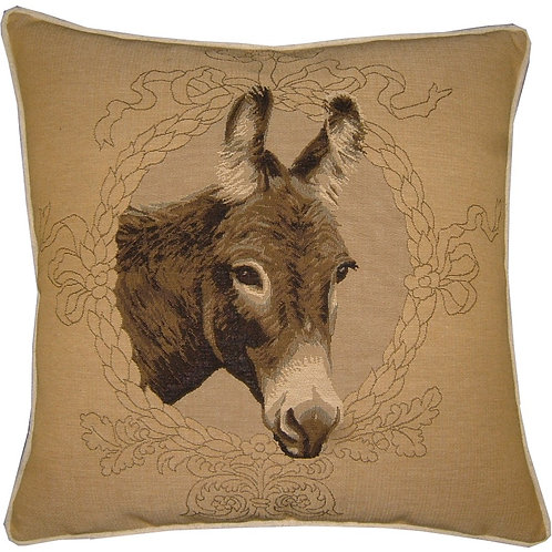 Donkey Mule Ass Cream Tapestry Cushion Cover