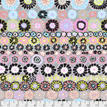 Kaffe Fassett Classics - Row Flowers PWGP169 CONTR Quilt Fabric