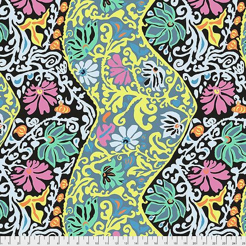 Kaffe Fassett Spring 2019 - Bali Brocade Contrast PWBM069 CONTR Quilt Fabric