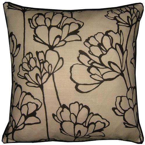 Romo Simonii Charcoal Cushion Cover